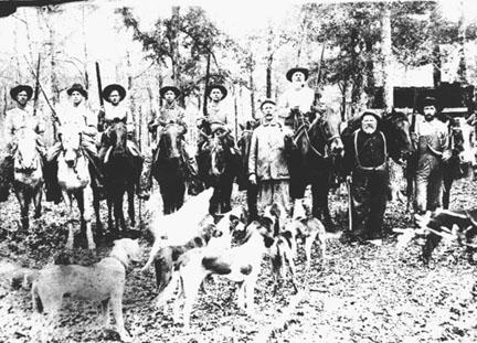 Hunting Party Near Walker S Creek 1900
